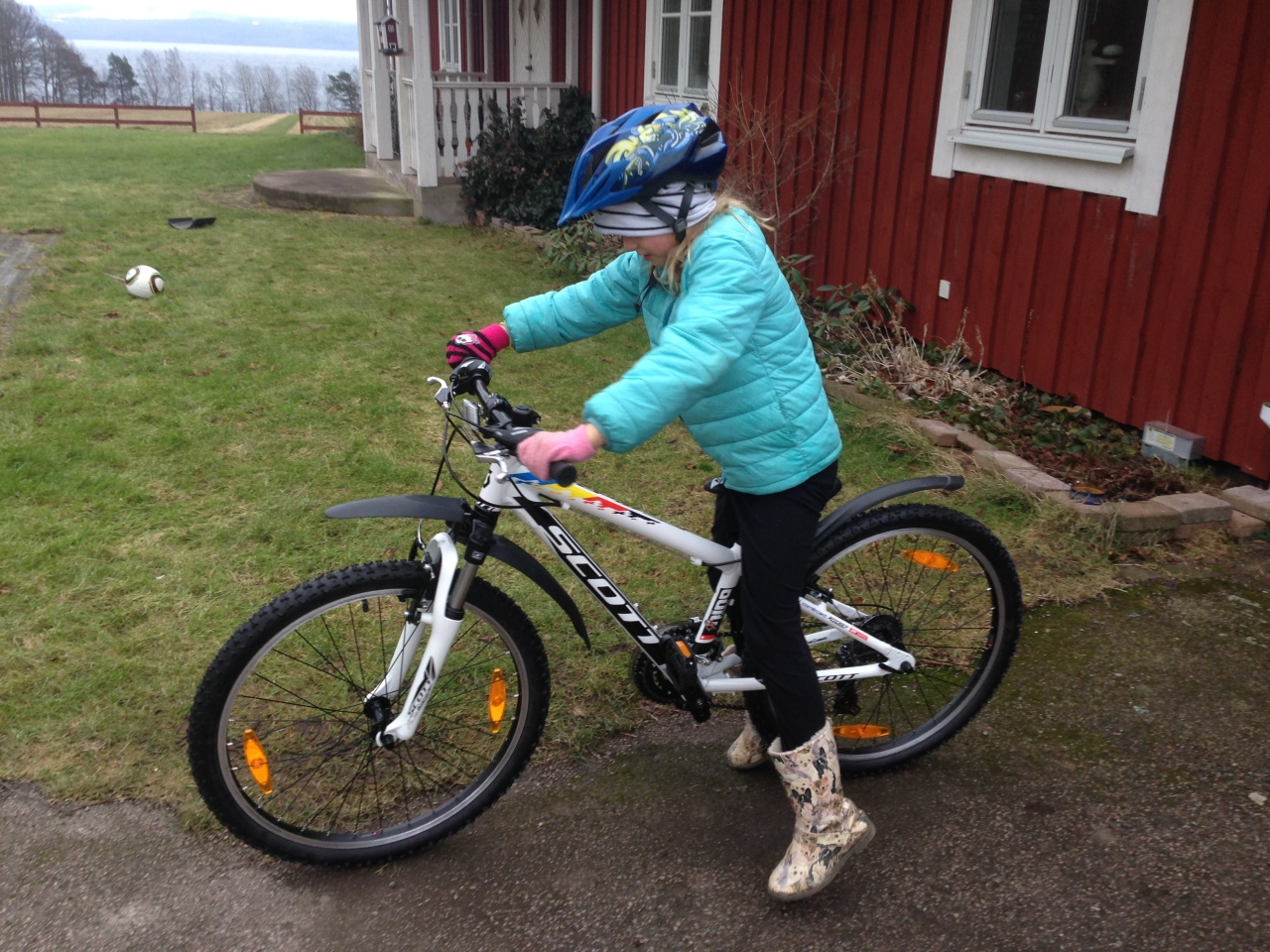 Melina cyklar