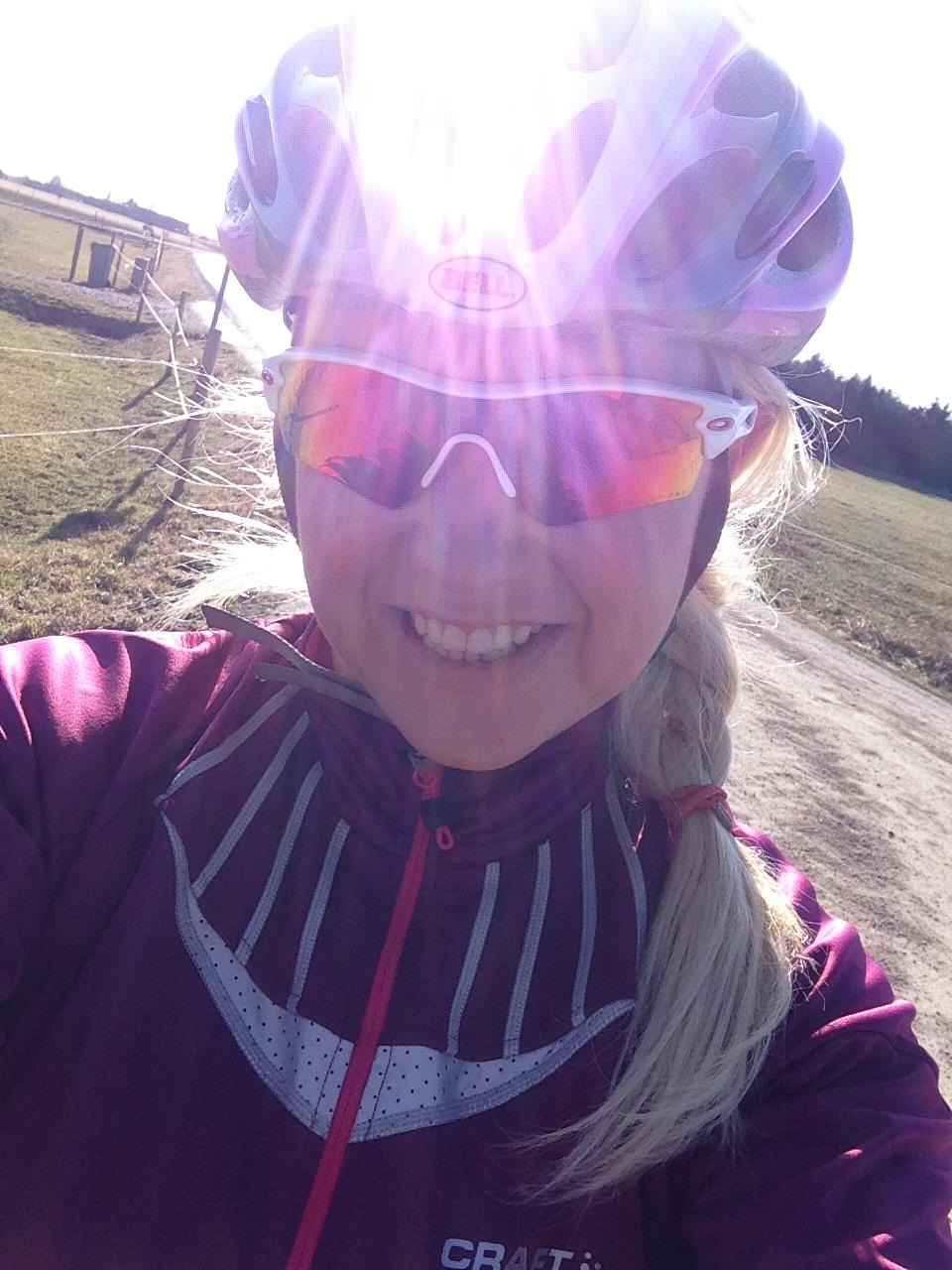 Cykling i sol