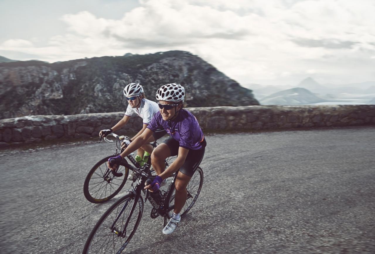 Cykla i berg