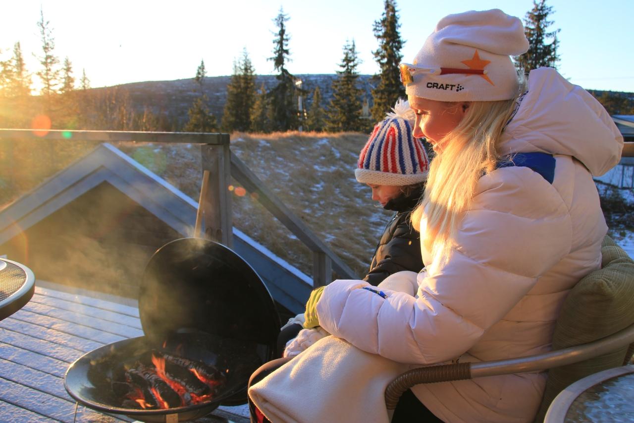 Mys med grill
